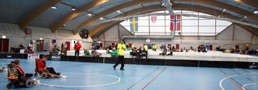 Norwegian EL-Innebandy Challenge cup 2012, Rholt, foto: Frank Nordseth